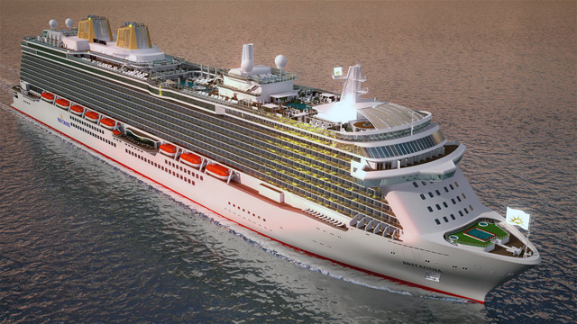 P&O Names Newest Cruise Ship