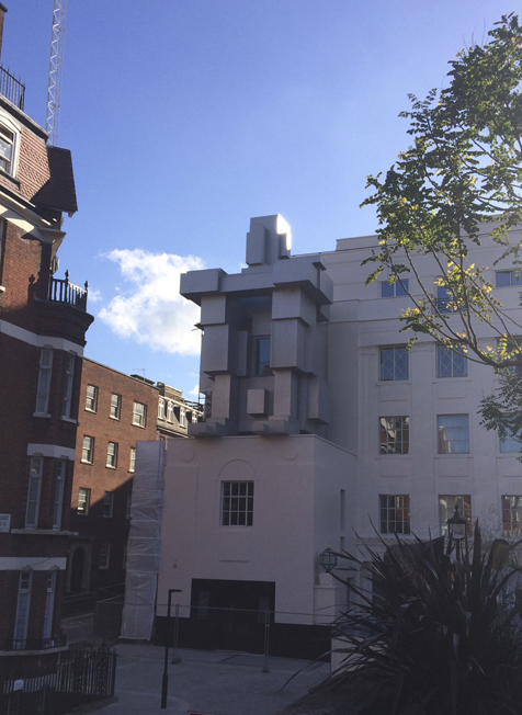 The Beaumont Hotel – Antony Gormley Sculpture Unveiled