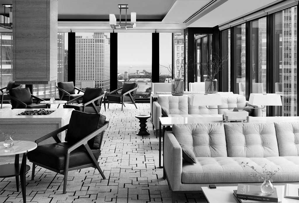 Langham Chicago Lounge
