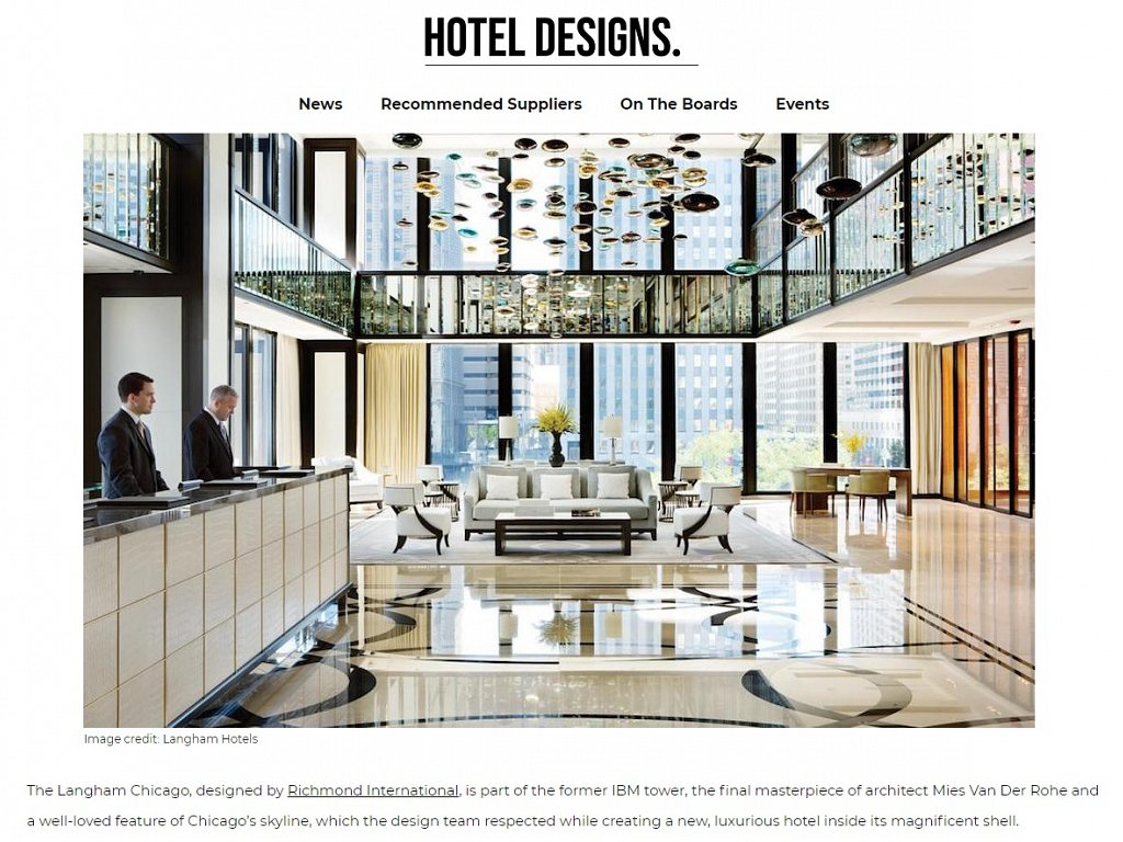 Hotel Designs - Unconventional Public Areas