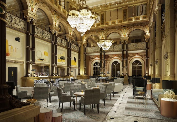 Sleeper Online - Richmond  commissioned to re-design Hilton Paris Opera