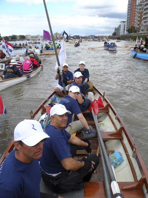 'Richmond Rookies' completed the Great River Race