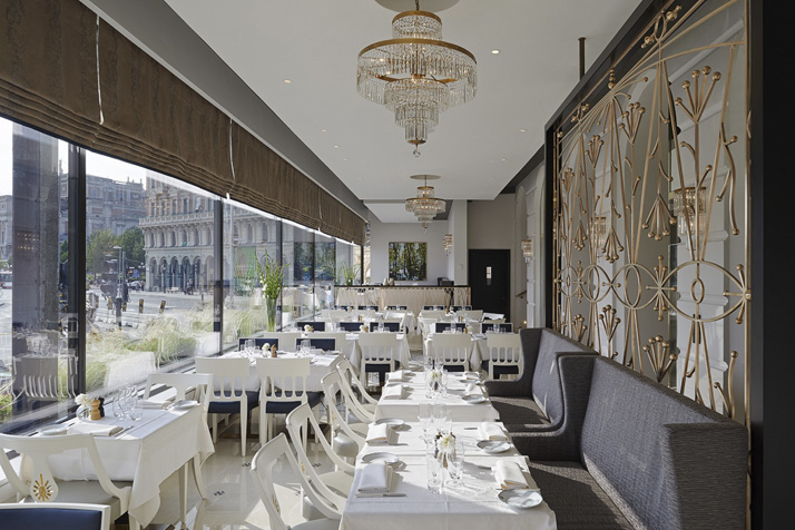 The Veranda Restaurant at Grand Hôtel in Stockholm