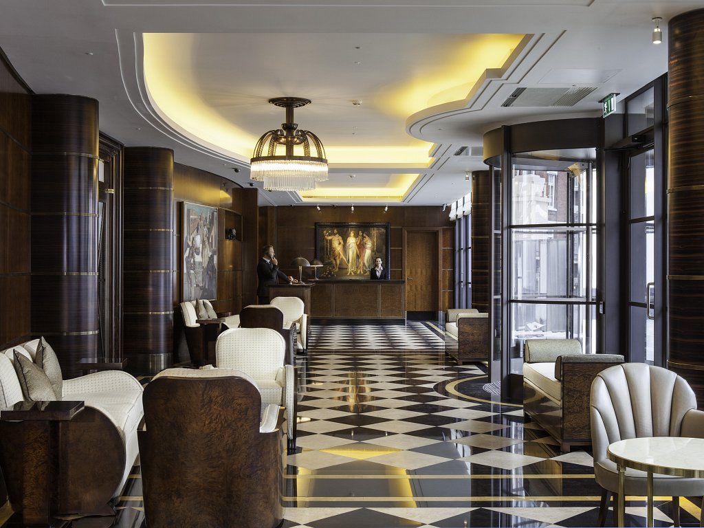 The Beaumont Hotel has been shortlisted for three prestigious design awards.